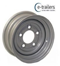 "12"" Trailer Wheel MEFRO 43126 108 4.5Jx12 5 Stud 140mm PCD TAKES 155x70x12 IFOR WILLIAMS"